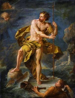 Neptune painting 1700s