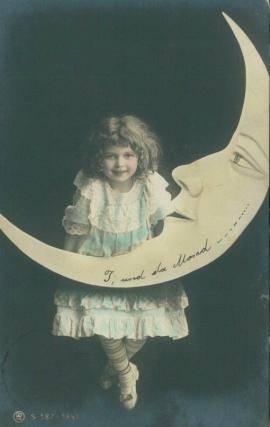 moon poster girl