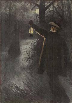 dark figure