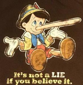 Pinocchio ment