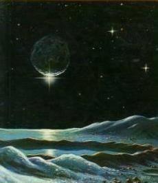 Pluto landscape