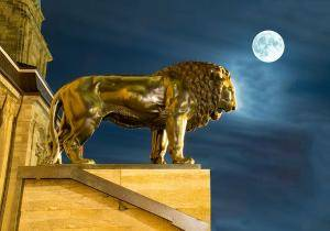 lion leo moon