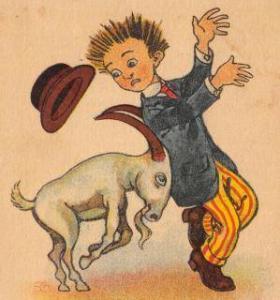capricorn goat butt