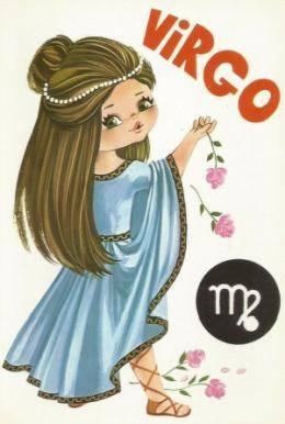 Virgo postcard