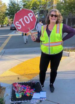stop crossing guard