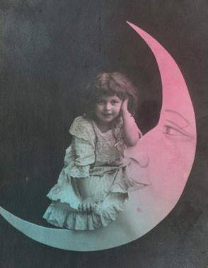 little girl moon