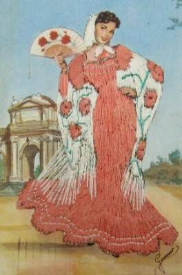 Venus in Virgo red dress