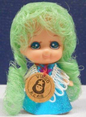 virgo doll with green hair