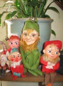 small christmas elves