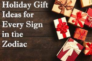 holiday gift guide zodiac