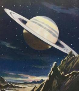 Saturn book plate