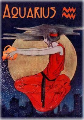 Aquarius red dress