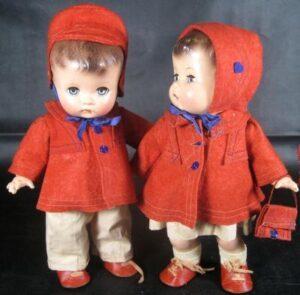 gemini twins orange coats