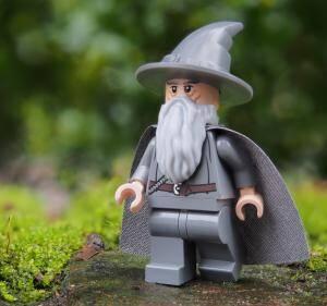 Forêt de Lego