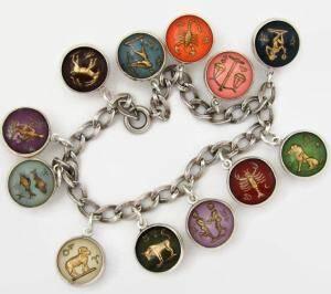 zodiac bubble bracelet