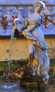 aquarius water bearer fountain italy