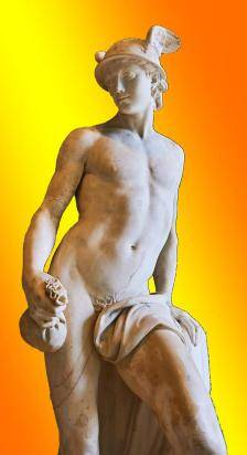 Mercury statue